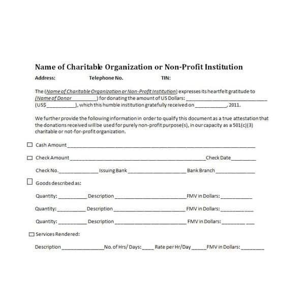 donation form template 6854110
