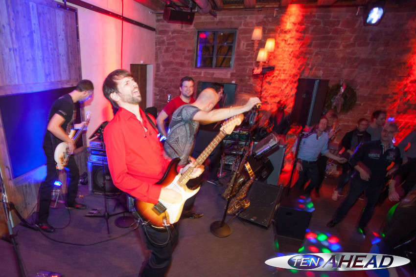 unitymedia heidelberg weihnachtsfeier 2014 mit liveband