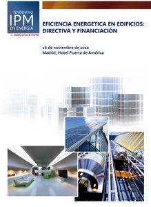 Informe IPM: Eficiencia Energética en Edificios. Directiva y financiación