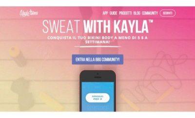 Sweat with Kayla Itsines
