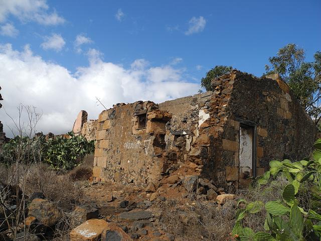 Casa en ruinas de Amaro Pargo en El Rosario