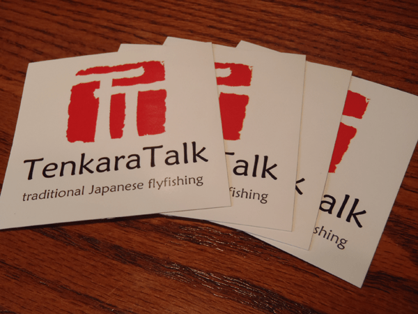 Tenkara Talk Stickers