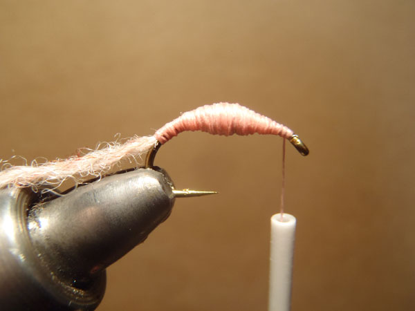 How to tie the killer bug step 4