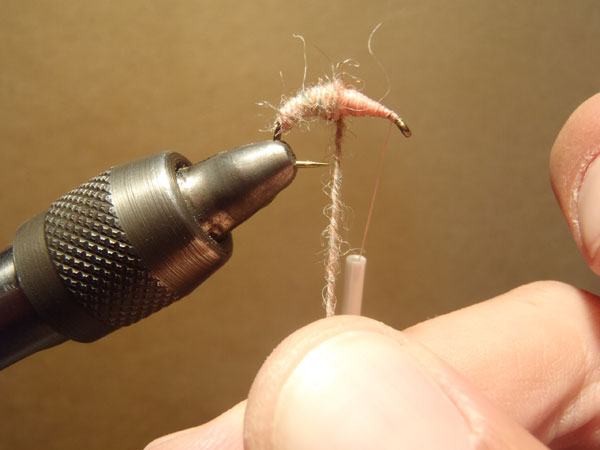 How to tie the killer bug step 6