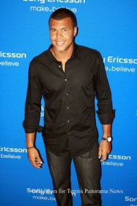 Jo-Wilfred Tsonga at 2011 Sony Ericsson Open Players Party