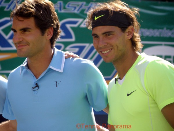 Federer-Nadal by Rosemary Nardone