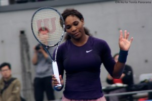 Serena Williams China Open doubles