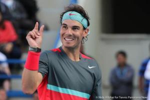 Nadal fingers