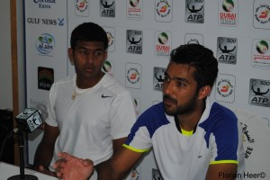 Rohan Bopanna and Aisam-Ul-Haq Qureshi