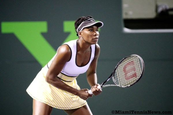 Venus Williams photo courtesy of MiamiTennisNews.com