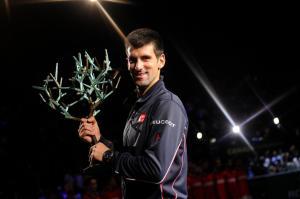 Djokovic wins Bercy