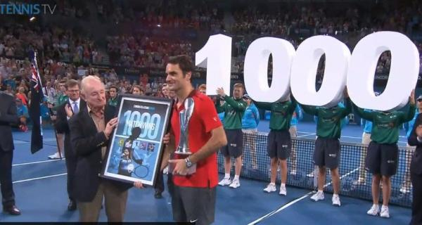 Rod Laver and Roger Federer photo courtesy of Tennis TV