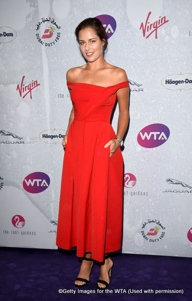 LONDON, ENGLAND - JUNE 23:  Ana Ivanovic attends the annual WTA Pre-Wimbledon Party presented by Dubai Duty Free at the Kensington Roof Gardens on June 23, 2016 in London, England.  (Photo by Stuart C. Wilson/Getty Images for WTA Tour)