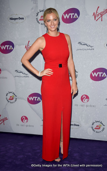LONDON, ENGLAND - JUNE 23:  Petra Kvitova attends the annual WTA Pre-Wimbledon Party presented by Dubai Duty Free at the Kensington Roof Gardens on June 23, 2016 in London, England.  (Photo by Stuart C. Wilson/Getty Images for WTA Tour)