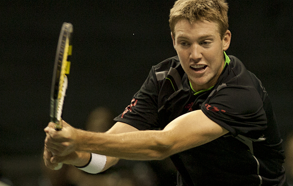 Jack Sock won his first big Challenger title.