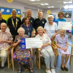 Tenterden Lions support The Day Centre and Pilgrim's Hospice