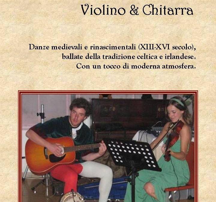 Musica Rinascimentale : Violino e Chitarra