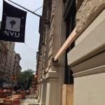 Detail, North side of 1 Washington Pl, New York, NY 10003