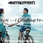 #MarriagePrayers: 1 Corinthians 7:4-5