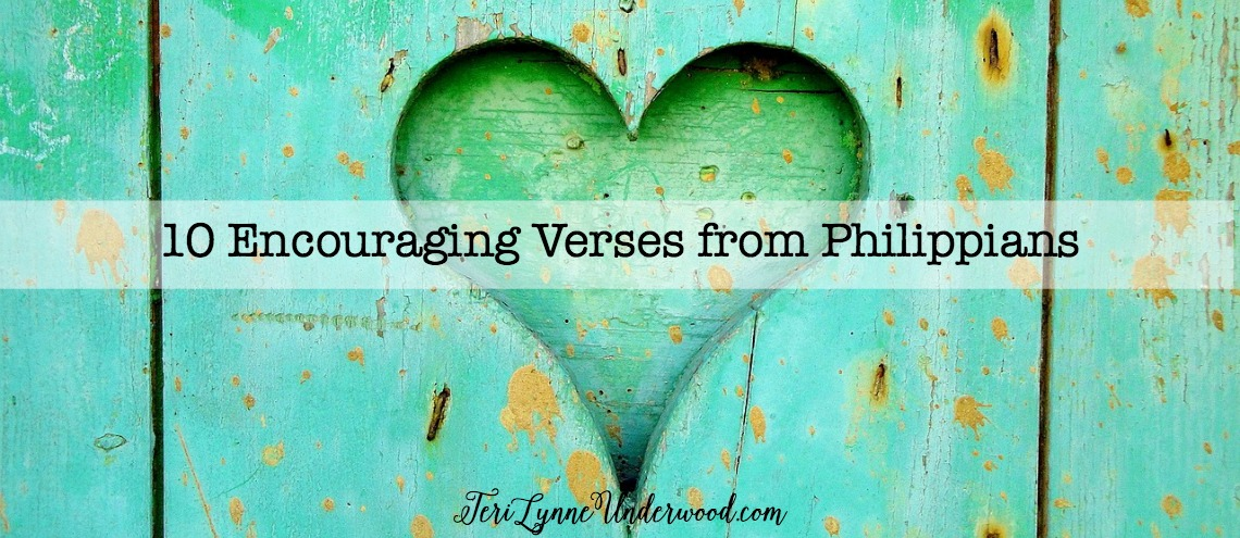 10 encouraging verses from Philippians