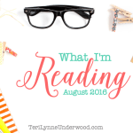 What I'm Reading August 2016