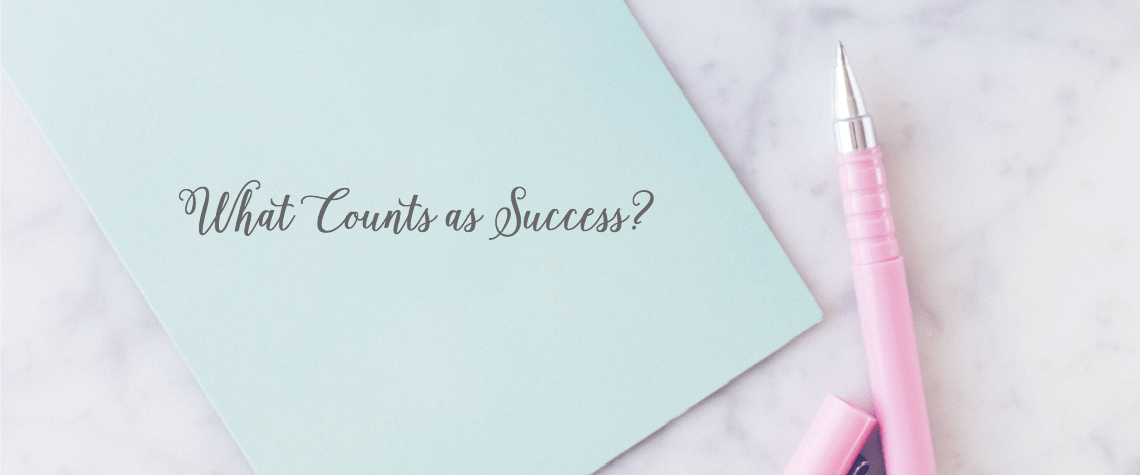 What Counts as Success?