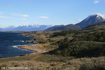 Tierra del Fuego's spectacular coastline