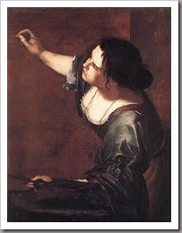 Artemisia autoportrait