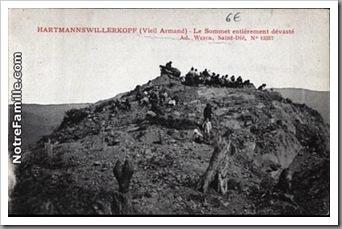 cartes-postales-photos-Le-Sommet-entierement-devaste-HARTMANNSWILLER-68le vieil armand 9