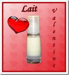 Lait Valentine