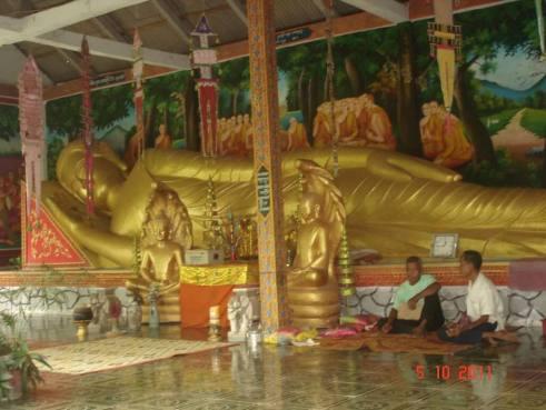 Cambodia Reclining Buddha