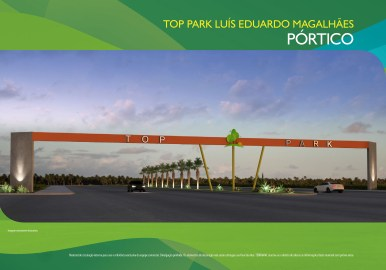 Loteamento Top Park - Terramac Empreendimentos - Pórtico