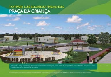 Loteamento Top Park - Terramac Empreendimentos - Praça da Criança