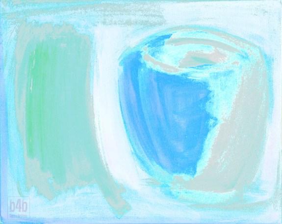 Mistaken Identity: Blue Ghost, digital, 2014, by Terre Britton