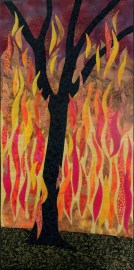 'Wildfire'  by Terry Aske  18 x 36  (c) 2016