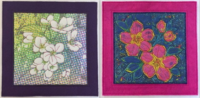 Dotty Blossoms and Drama Blossoms by Terry Aske