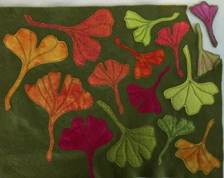 ginkgo-leaves-stitched-to-felt