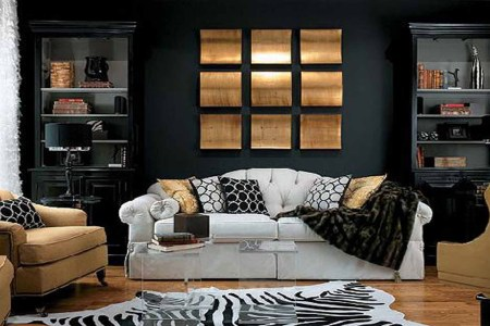 black living room ideas 02