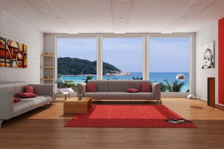 red lounge ideas 23