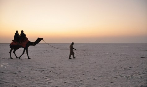 sunset Rann of Kutch