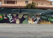 Murales per le vittime della mafia