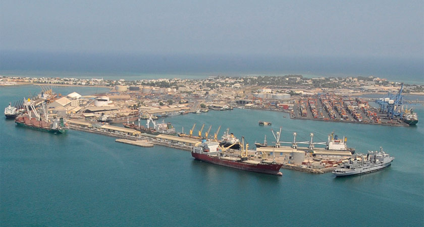 China's presence in Djibouti port