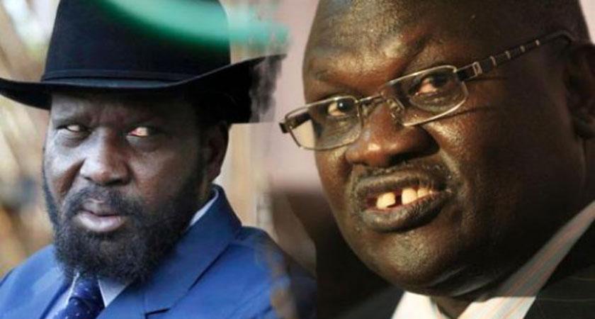 Salva Kiir Reappoints Machar as Vice-President