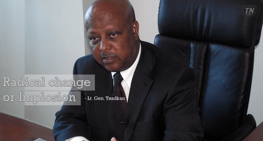 Highlights of Lt. Gen. Tsadkan's Watershed Article on Ethiopia Political Crisis