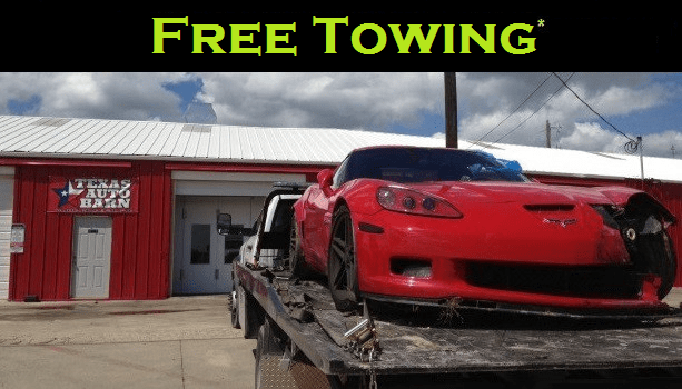 Free Towing with Auto Collision Repair