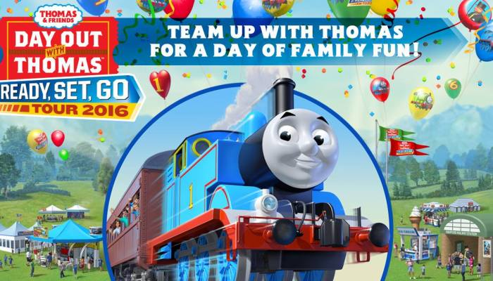 Austin Steam Train Association Presents: Day Out With Thomas 2016