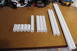 PVC Bike Rack Materials