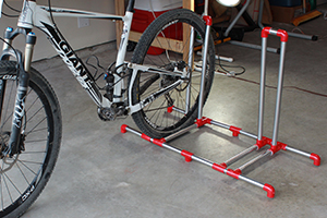 PVC Bike Rack DIY