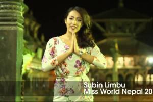 Miss World Contestant Introduction: Miss Nepal Subin Limbu - TexasNepal News