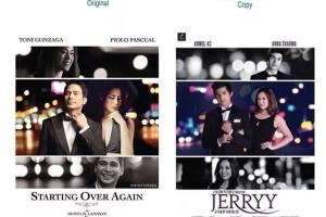 तसवीर आफै बोल्छ: Jerryy को पोस्टर र Filipino फिल्मको पोस्टर संगै राखेर हेर्दा - TexasNepal News